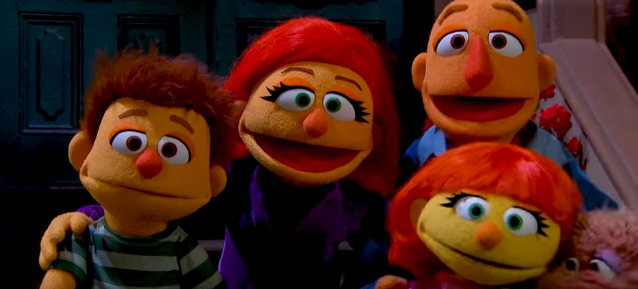 Meet Julia: The Sesame Street Muppet Everyone Loves - Blog